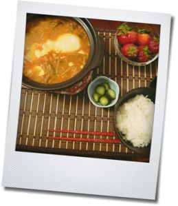 tofu soup