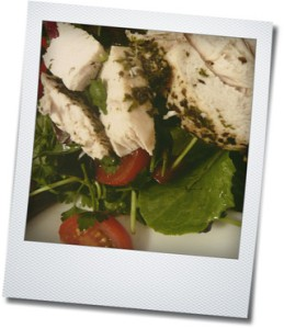 salad closeup