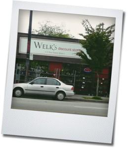 welk's discount store