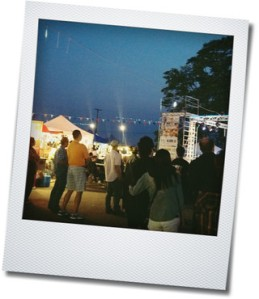 summer night market