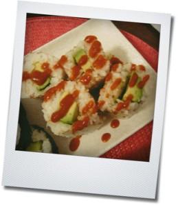 spicy avocado roll