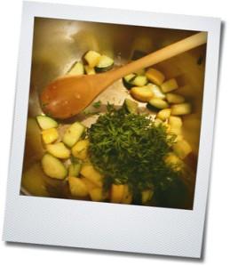 zucchini and dill