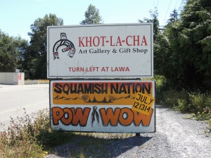 pow wow sign